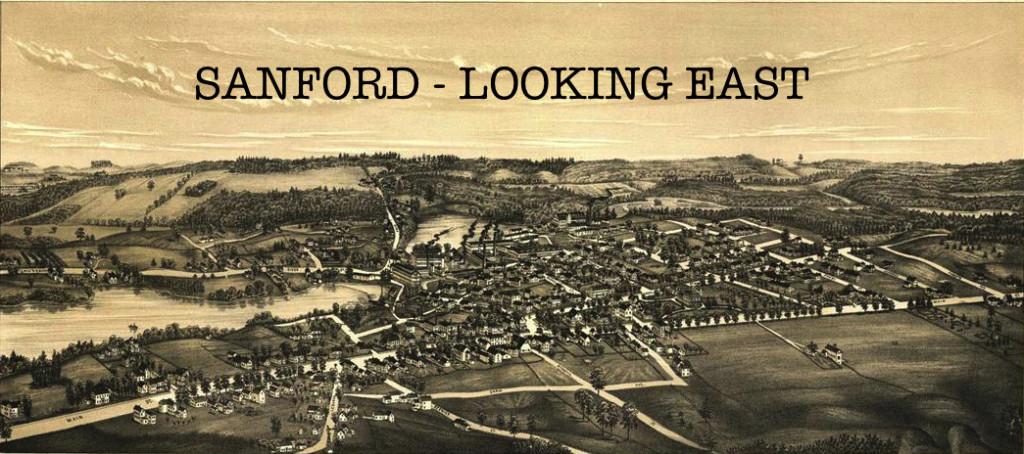 1889 map of Sanford