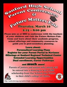 Parent Conference Night & Future Matters Fair @ Sanford High School | Sanford | Maine | United States