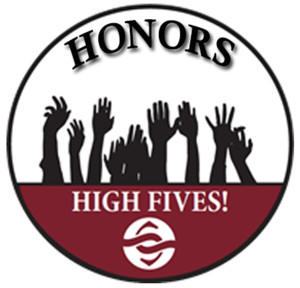 High Fives! Honors 2016