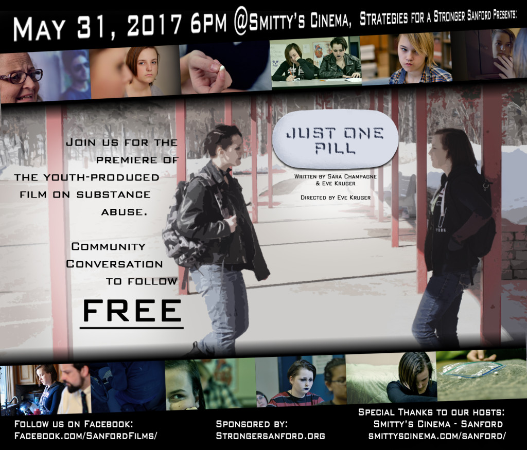 Youth-Produced Film on Substance Abuse @ Smitty's Cinema-Sanford