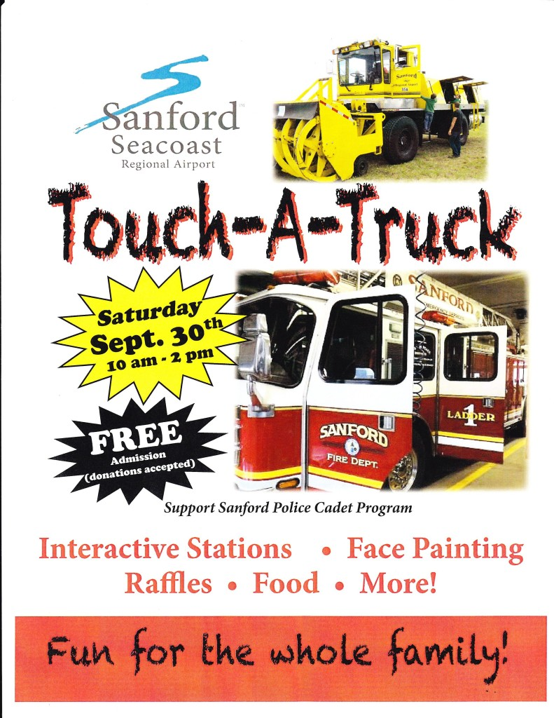 Touch-A-Truck @ Sanford Seacoast Regional Airport | Sanford | Maine | United States