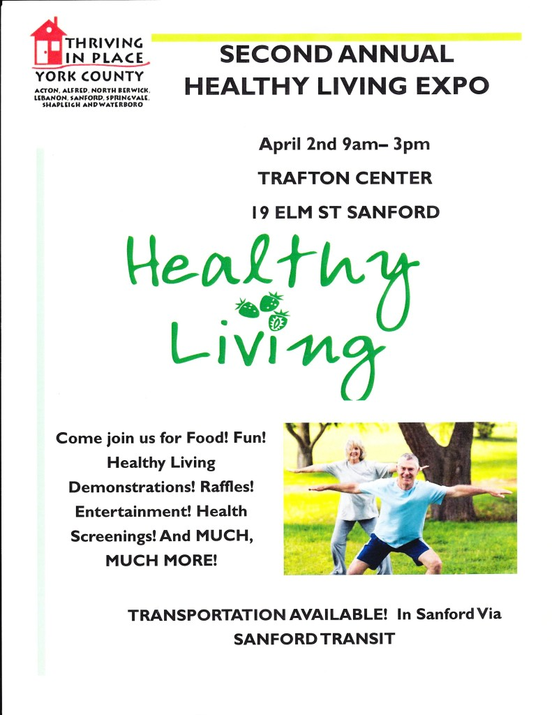 Second Annual Healthy Living Expo @ YMCA Trafton Center | Sanford | Maine | United States