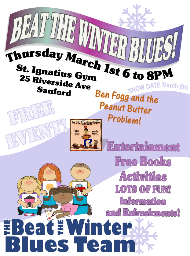 Beat the Winter Blues @ St. Ignatius Gym | Sanford | Maine | United States
