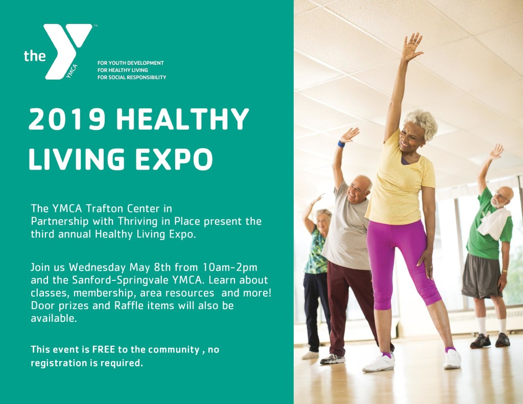 2019 Healthy Living Expo! @ Sanford Springvale YMCA